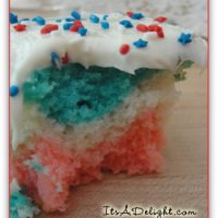 4th of July Cupcakes - It's A Delight.com