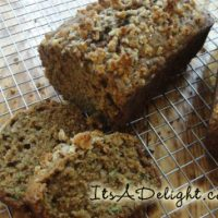 Zucchini Bread - It's A Delight.com