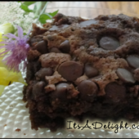 Chocolate Zucchini Cake - It's A Delight.com