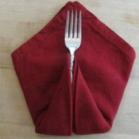 Folded Turkey Napkins - It's A Delight.com