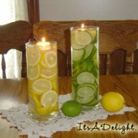 Lemon Lime Centerpiece - It's A Delight.com