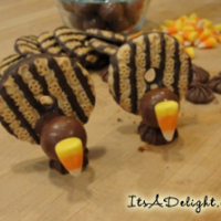 Turkey Cookies - It's A Delight.com