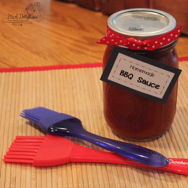 Homemade Tangy BBQ Sauce