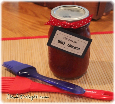 Homemade Barbecue Sauce - It's A Delight.com