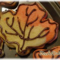 Fall Leaf Cookies - It's A Delight.com