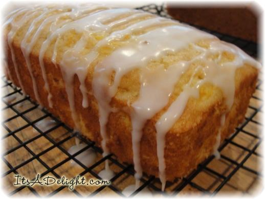 Peach Bread Loaf - It's A Delight.com