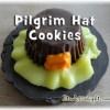 Pilgrim Hat Cookies - It's A Delight.com