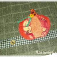 Pumpkin Towel - It's A Delight.com